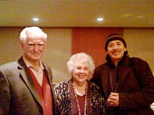 Whit, Judy and Carlos Santana