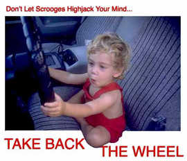 Don't let Scrooges highjack your mind.