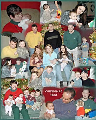 Family Christmas 2001