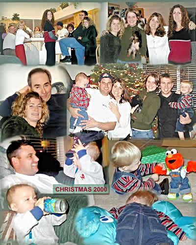 Famly Christmas 2000