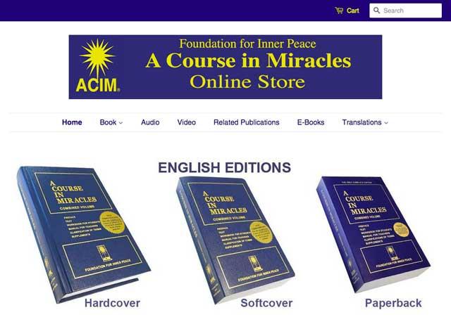 ACIM Online Store