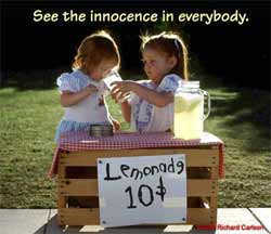 See the innocence