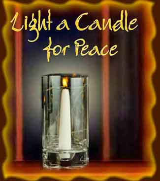 Light a Candle for Peace