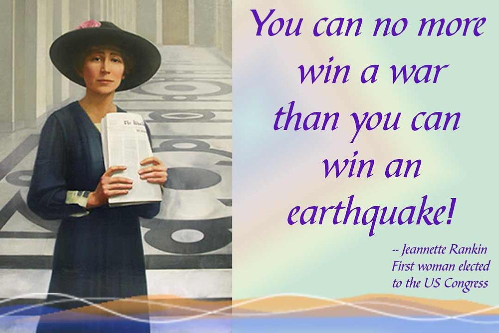 Jeannette Rankin Quote