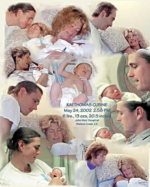 Grandson Kai's Birth