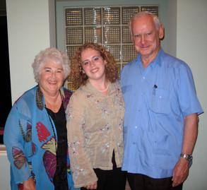 Judy, Rachel and Whit