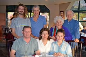 Will, Rob, Judy, Whit, Vance, Shawn, Sarah
