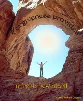 Forgiveness provides a fresh new start