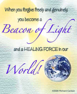 Become a beacon of light