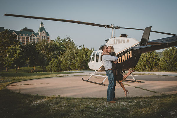 ENGAGEMENT HELICOPTER TOUR BRANSON, MISSOURI
