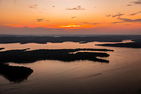 TABLE ROCK LAKE SUNSET HELICOPTER TOUR