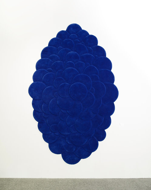 Blue Bubbles by MEW RUG