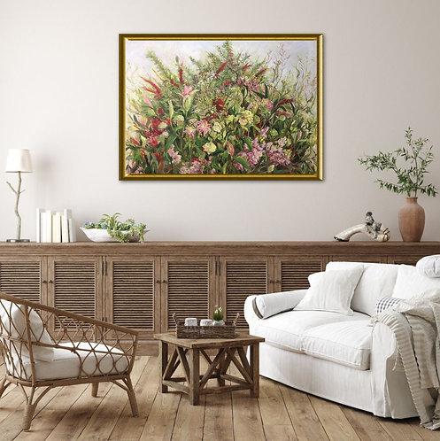 Flowerss Gathering by Du Lei