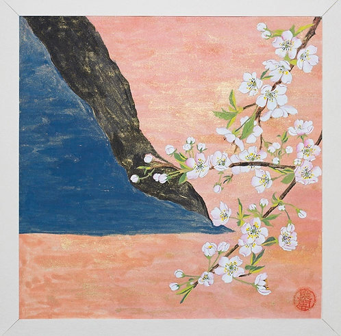 Flora in Norway-Landscape with Cherry Blossoms#2