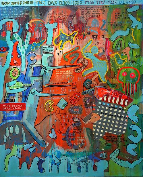 Make Utopia Great Again (MUGA) by Paal Bugen