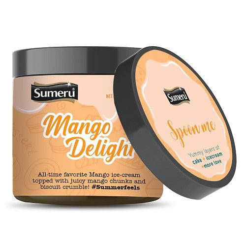 Ice Cream Cake - Mango Delight