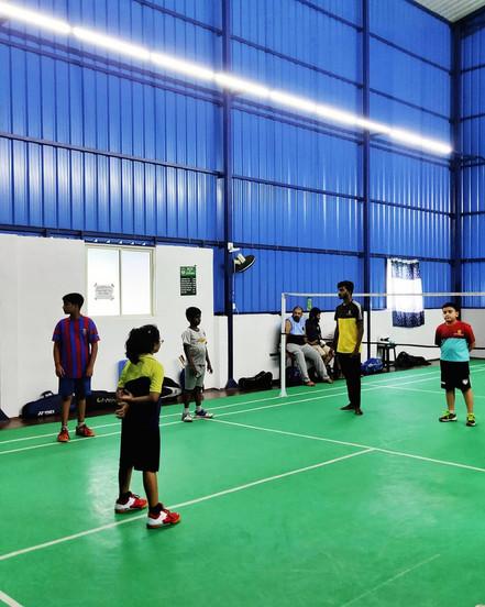 Kids Badminton Coaching