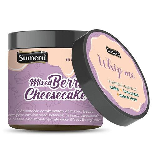 Ice Cream Cake - Mixed Berry Cheesecake