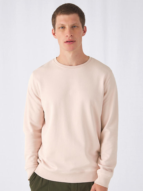 Sweatshirt Men organisch B&C french Terry