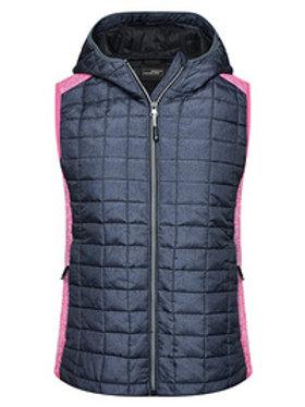 5x Weste Ladies' Knitted Hybrid Vest