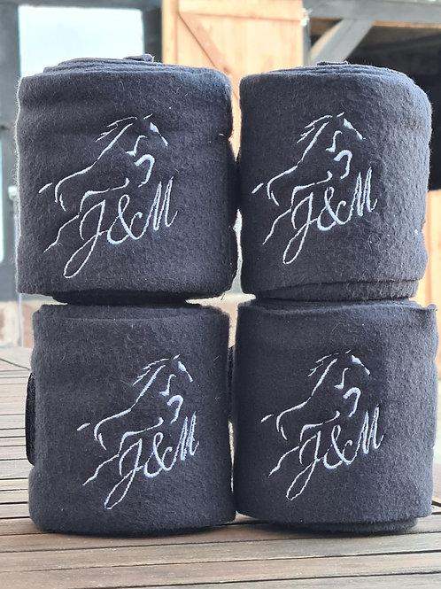Fleecebandage individuell, Pfiff inkl Bestickung(max. 8cm)