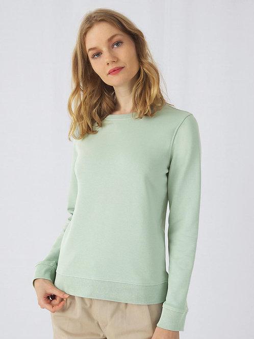 Sweatshirt Ladies organisch B&C french Terry
