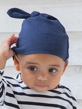 Babybugz, Baby Knoten Mütze, bestickt mit Namen