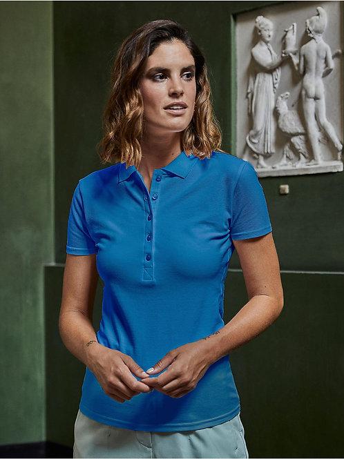 Poloshirt Ladies Tee Jays, luxury Stretch