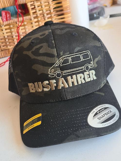 """Flexfit Multicam Trucker Cap """"Busfahrer"""""""