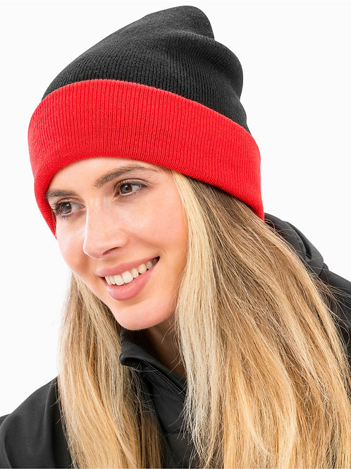 Beanie, Mütze, Result, contrast, recycled, unisex