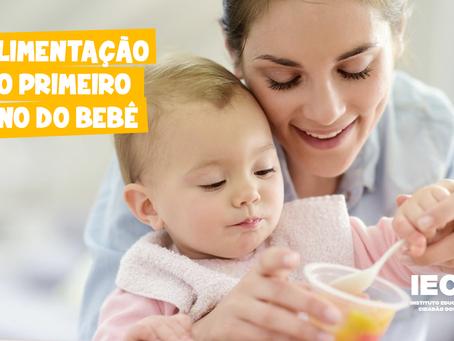 Alimentação no primeiro ano do bebê