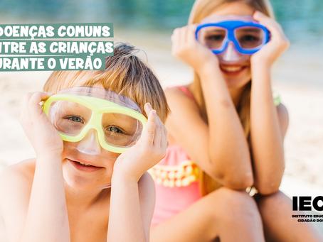 7 doenças comuns entre as crianças durante o verão