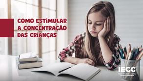 Como favorecer e estimular a concentração das crianças