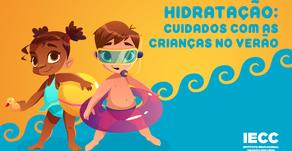 Hidratação: cuidado com as crianças no verão