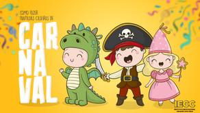Fantasias caseiras de carnaval para as crianças