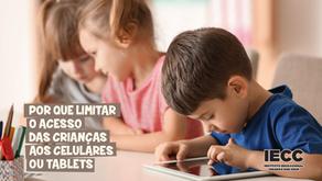 Por que limitar o acesso das crianças aos celulares