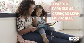 7 razões para que as crianças leiam em voz alta