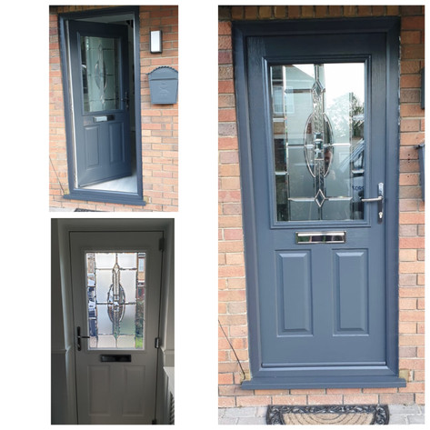 Beeston in Anthracite Reflections glass