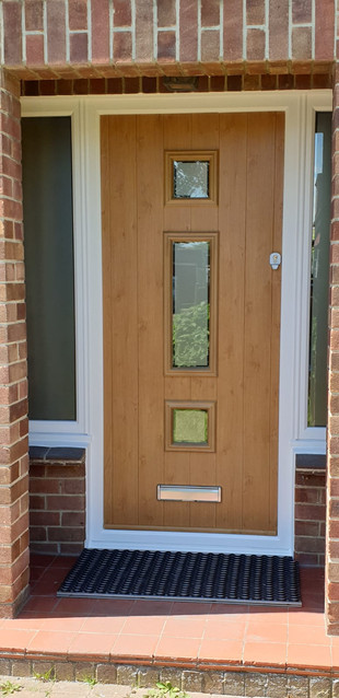 Genoa Solidor Entrance Door