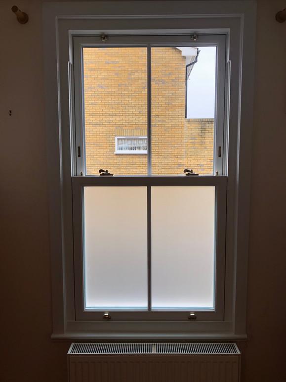 Sash Windows internal