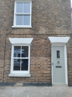 Solidor Entrance Door and Vertical Slider