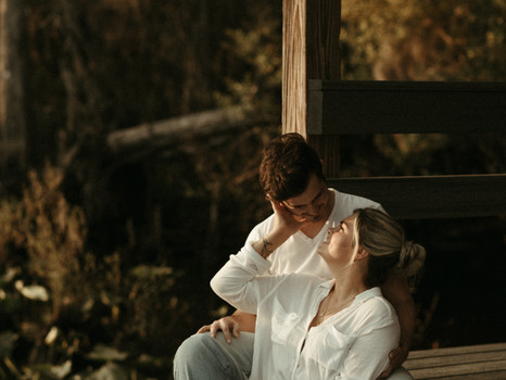 A night at the lake / Couples Session / Evy and Dillion / Jacksonville, Florida.