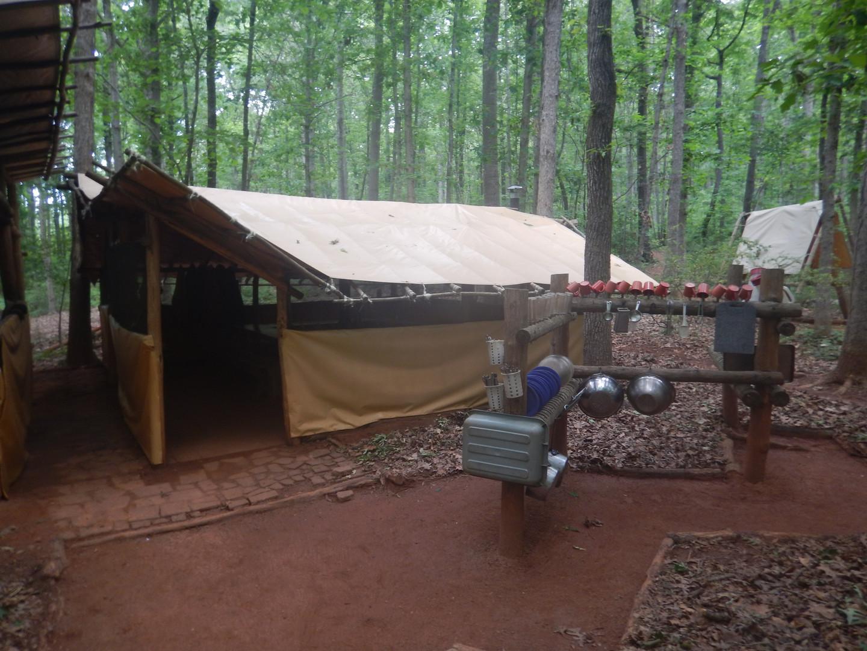 Group Tent w/ Dish Rack