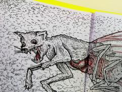 carne dada a los gusanos leandro lince