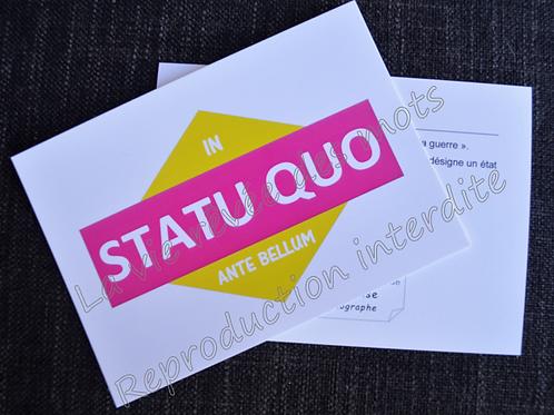 statu quo