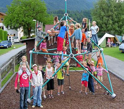 Alpencamp-Kletterturm