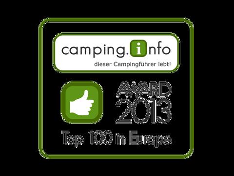 CAMPING INFO AWARD 2013