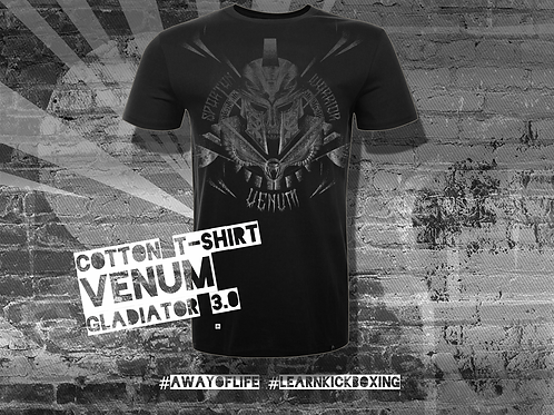 VENUM GLADIATOR 3.0 T-SHIRT - BLACK/BLACK