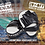 Thumbnail: VENUM LIGHT FOCUS MITTS - WHITE/BLACK (PAIR)