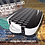 Thumbnail: VENUM ABSOLUTE SQUARE KICK SHIELD - SKINTEX LEATHER - BLACK/ICE